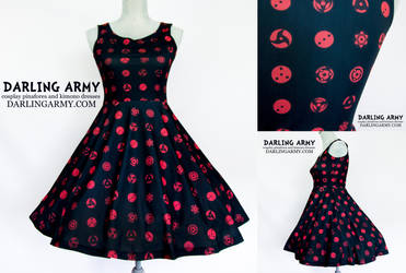 Uchiha Sharingan Naruto Shippuden Cosplay Dress by DarlingArmy