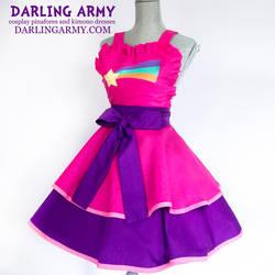 Mabel Pines Gravity Falls Cosplay Pinafore by DarlingArmy