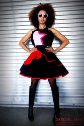 ALA Fashion Show - Garnet Cosplay Pinafore by DarlingArmy
