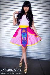ALA Fashion Show - Princess Zelda Skirt by DarlingArmy