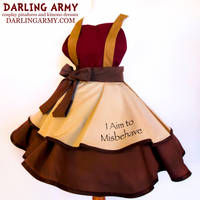 Captain Mal Firefly Cosplay Pinafore by DarlingArmy