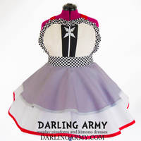 Roxas Kingdom Hearts Cosplay Pinafore Dress by DarlingArmy