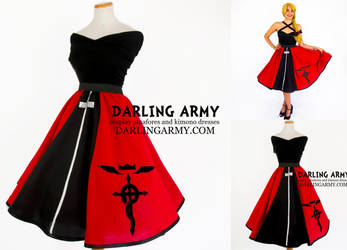Ed Elric - Fullmetal Alchemist -  Cosplay Skirt by DarlingArmy