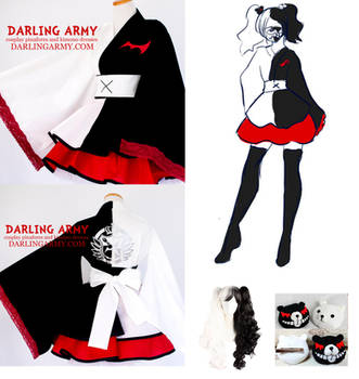Monokuma Danganronpa Cosplay Kimono Dress by DarlingArmy
