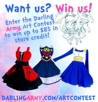 Darling Army Art Contest Extension by DarlingArmy