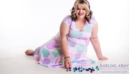 Critical Cutie D20 DnD Pastel Dress by DarlingArmy