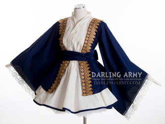 Alexander Hamilton Cosplay Kimono Dress by DarlingArmy