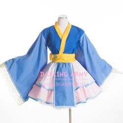 Princess Allura Voltron Cosplay Kimono Dress by DarlingArmy
