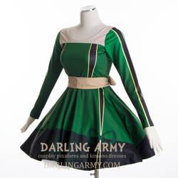 Froppy My Hero Academia Cosplay Dress by DarlingArmy