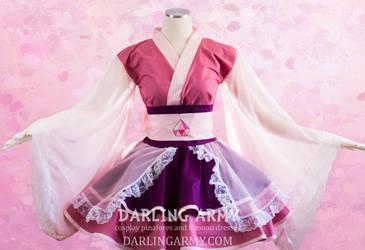 Pink Diamond Steven Universe Cosplay Kimono Dress by DarlingArmy