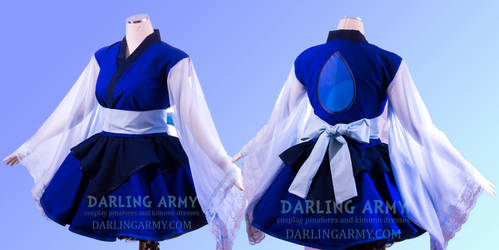 Lapis Lazuli Steven Universe Cosplay Kimono Dress by DarlingArmy