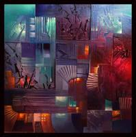 City lights by Amytea