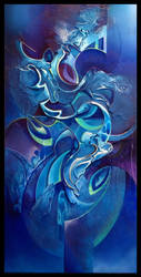 Lerne abstract painting by Amytea