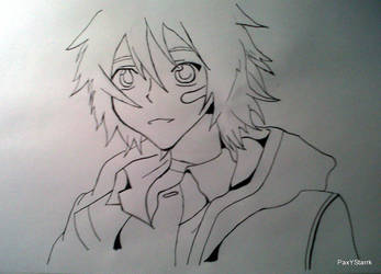 Shion From Number 6, the anime by PaxYStarrk