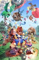 Clash royale fan art by jeongminwoo