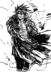 Gunner man sketch by finaladventure