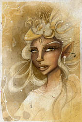 lady of Gold by Araniel