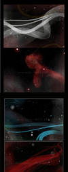 Space background design by Araniel