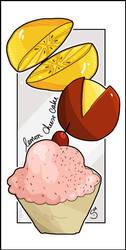 lemon cheese cake by Araniel