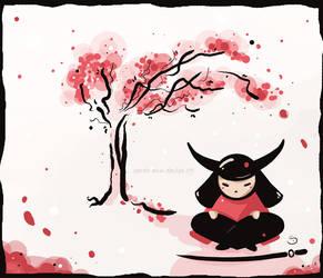 cherry blossom by Araniel