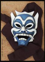 blue spirit mask by Araniel