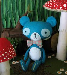 Dewey the Bear by BibelotForest