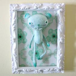 Mint Bear by BibelotForest