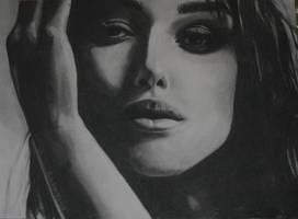 Keira Knightley by Evelinelily