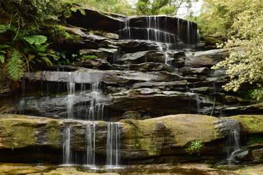 Waterfall by novicebutnice