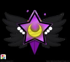 Moon Shadow Supreme Brooch (closed) by HeartStorm4ever