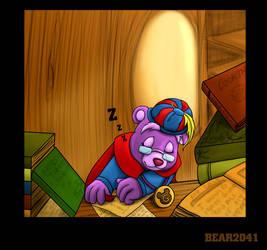 Sleeping Zummi by BEAR2041