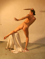 Fighting Nude Warrior 4 by TheMaleNudeStock
