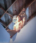 male nude angels in perspective 3 by TheMaleNudeStock