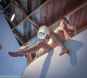 male nude angels in perspective a by TheMaleNudeStock