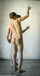 a toast male nude by TheMaleNudeStock