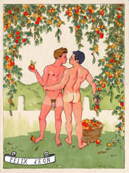 The Apple Pickers by TheMaleNudeStock