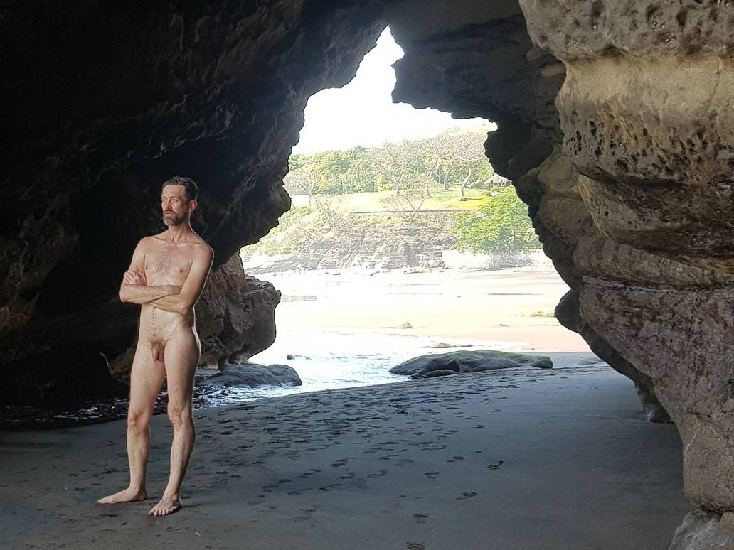 Male nude at el Salvador beach 2 by TheMaleNudeStock