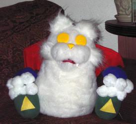 MAX Virus plush puppet by sashafiero