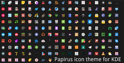 Papirus icon theme by KanoRUS