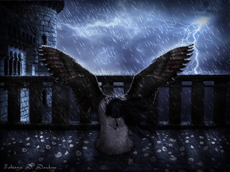 Tears of an Angel by fabilua