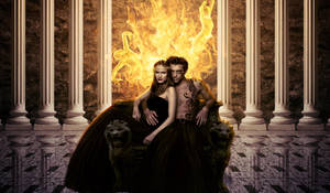 Hades and Persephone by fabilua