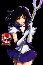 Sailor Saturn Render by Princess-of-Thorn