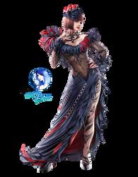 Anna Williams Render [Tekken 7] by Princess-of-Thorn
