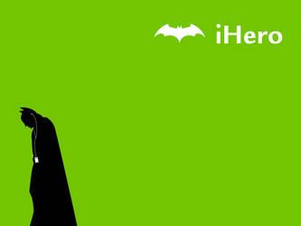 iHero Batman by PickeBu