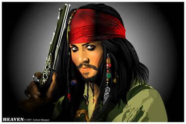 Jack Sparrow by HeavenBR