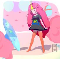 Princess Bonnibel Bubblegum by HatsuYuki-sama