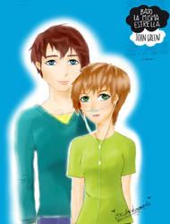 Bajo la misma estrella Hazel y Agustus by anykinomoto