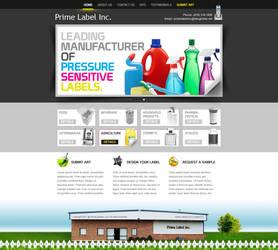 Prime Label Web Proposal by zeba5