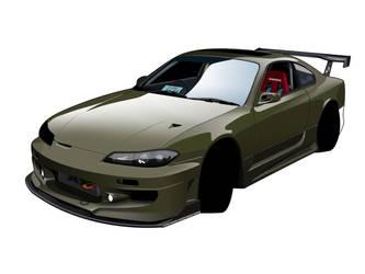 Nissan S15 WIP 3 by zeba5