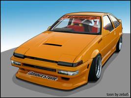 -Toyota Tueno AE86 D1GP- by zeba5